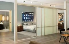 Living Room Sliding Door by S. Mohan Agency