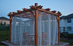 Outdoor Gazebo by Sanwaliya Elevation Stone Gallery