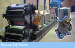Paper and Pulp Plant Machinery Gearbox by Micro Precision Works