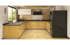U Shaped Modular Kitchen by Yes Interior