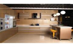 U Shaped Modular Kitchen by Rethin Interior Decorator