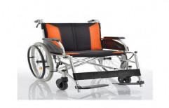Wheel Chair Aluminum Folding RH-2600-L by Rizen Healthcare
