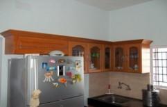 Wooden Kitchen Wall Unit by Trendz Interiorz