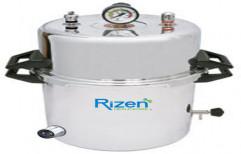 Autoclave Aluminium Double Drum Electric by Rizen Healthcare