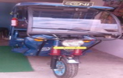 Battery E  Rickshaw With Charger by Mechanical Equipment And Technology
