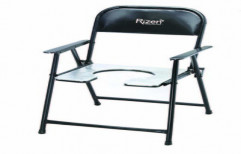 Commode Chair MS Handle,Aluminium Top-RH800 by Rizen Healthcare