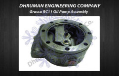 Grasso RC11 Oil Pump Assembly by Dhruman Engineering Company