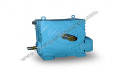 Horizontal Worm Reduction Gearbox by Micro Precision Works