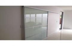 Interior Sliding Glass Door by Glass Angels