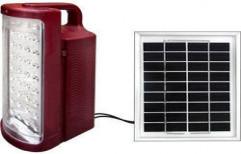 Solar Emergency Light by Rising Sun Power