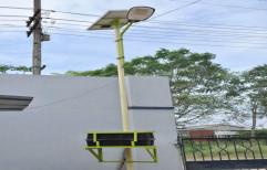 Solar Street Light Pole by A.P. Technologies