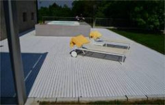 Wood Polymer Composite Decking Panel by New Era Industries