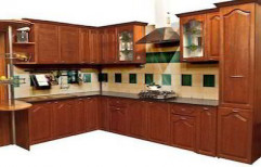 Wooden Modular Kitchen by Color Coats