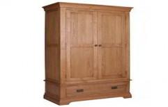 Wooden Wardrobe by Touchwood Interior