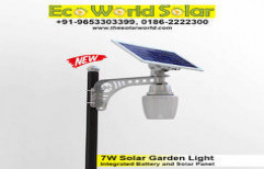 7W Solar Garden Light by Eco World Solar