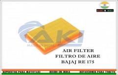 Air Filter Bajaj Three Wheeler by AKI Torito Repuestos