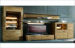 LCD Wall Unit Furniture by Aakarshan Modular Kitchen & Wood Interiors
