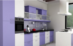Modern Modular Kitchen by Hema Kitchen & Furniture