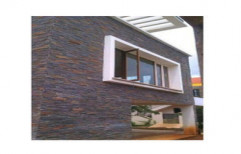 Outdoor Wall Cladding by Space Decorators