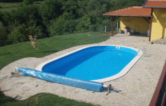 Oval Shaped Swimming Pools by Vardhman Chemi - Sol Industries