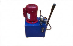 Power Pack With Hand Pump by Mech India