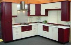 PVC Modular Kitchen by Alstona Interiors & Furnitures