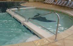 Steel Swimming Pool Handrail by Vardhman Chemi - Sol Industries