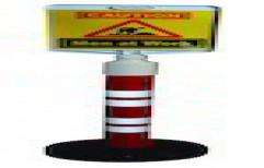 Warning Post / Bollard by Samtel Technologies
