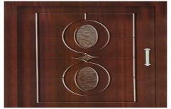 Wooden Laminated Membrane Door by Jagdamba Glass & Aluminium