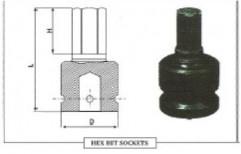 3/4 SQ Drive Impact Hex Bit Sockets by Chintan Sales