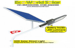 30W Integrated Solar Street Light by Eco World Solar