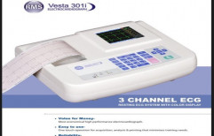 ECG Machine 3 Channel by Sun Shine Medical Equipment Guard Limited