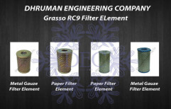 Grassp RC9 Filter Element by Dhruman Engineering Company