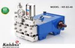 Heavy Duty Pressure SS Pump by Krishna Engineering