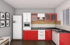 L Shaped Kitchen by S. Mohan Agency