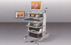 Laparoscopic Trolley With Camera System by Oam Surgical Equipments & Accessories