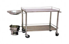 Trolley for Dressing Drum by Surgical Hub