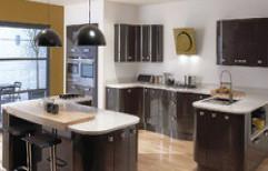 Wooden Modular Kitchen by S. B. Kitchen Solutions