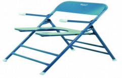 Commode Chair MS Foldable Handles by Rizen Healthcare