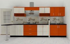 Decorative Modular Kitchen by Rethin Interior Decorator