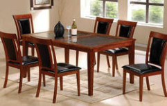 Dining Table by Aakarshan Modular Kitchen & Wood Interiors