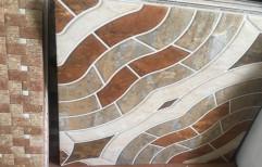 Garden Floor Tile by Sri Krishna Ceramics