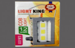Light King Rechargeable LED Light by Indo AGVR Solar Energy