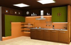Luxury Plywood Modular Kitchen by Sabnavees Interior Private Limited