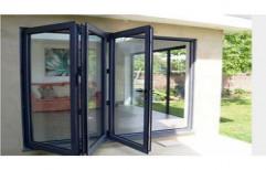 Painted Aluminium Sliding Door by Kuchchal International