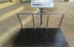 Platform Scale Heavy Duty Chaker by Al Noor Electronics