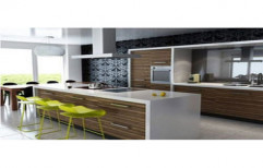 Stylish Modular Kitchen by Home Lene