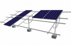10KW Solar Panel Mounting Structure by UrjaKart