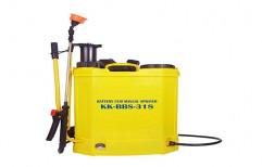 Knapsack Sprayer (Manual Cum Battery) KK-BBS-318 by Kisan Kraft Ltd