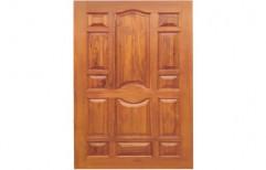 Greeen Plastwood Ivory and Grey WPC Door